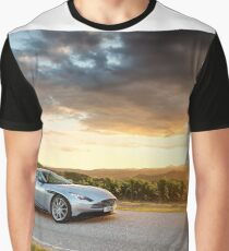 Aston Martin DB11 - Shot on Location in Italy Graphic T-Shirt
