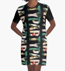 ADORE DELANO - PARTY Graphic T-Shirt Dress