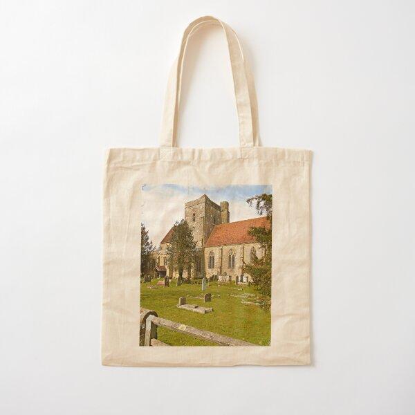 Etchingham Church Cotton Tote Bag