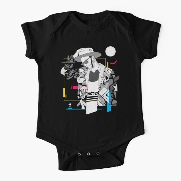 Think - Jewish Pop Art Short Sleeve Baby One-Piece