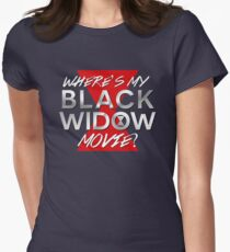 Black Widow Movie Women's Fitted T-Shirt
