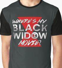 Black Widow Movie Graphic T-Shirt