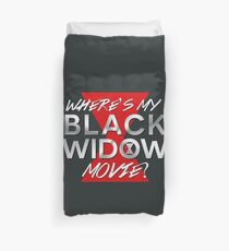 Black Widow Movie Duvet Cover