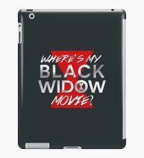 Black Widow Movie iPad Case/Skin