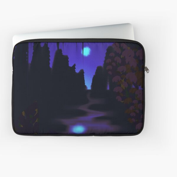 Moonlight on the water Laptop Sleeve