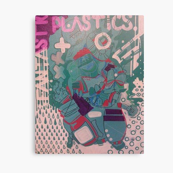 fantastic plastics Canvas Print