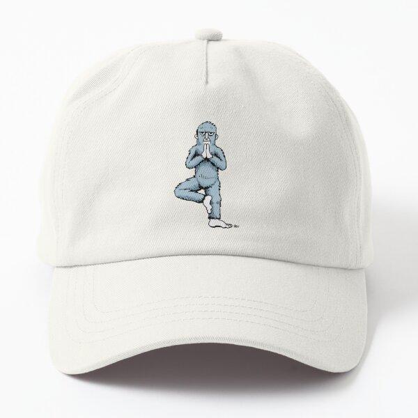 Yoga Yeti Pose Number Six Dad Hat