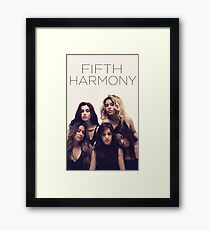 Fifth Harmony Billboard shoot Framed Print