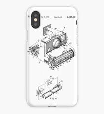 Retro Vintage Polaroid Film Camera Patent Drawing iPhone Case/Skin