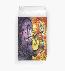 Final Battle Duvet Cover