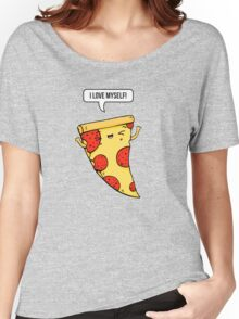 Pizza Love Women's Relaxed Fit T-Shirt