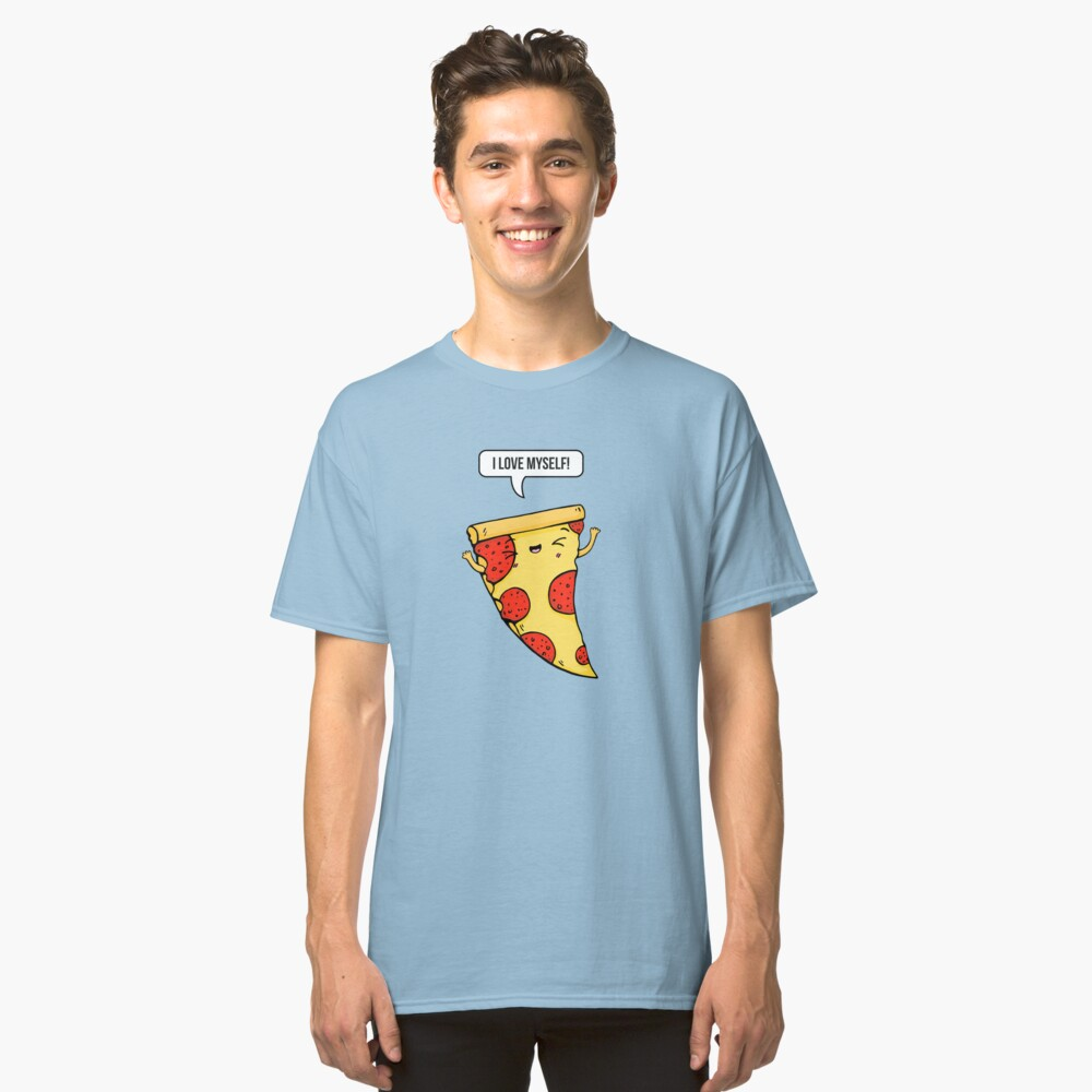 Pizza Love Classic T-Shirt Front