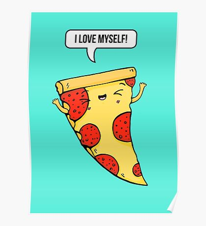 Pizza Love Poster