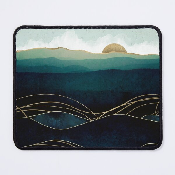 Indigo Waters Mouse Pad