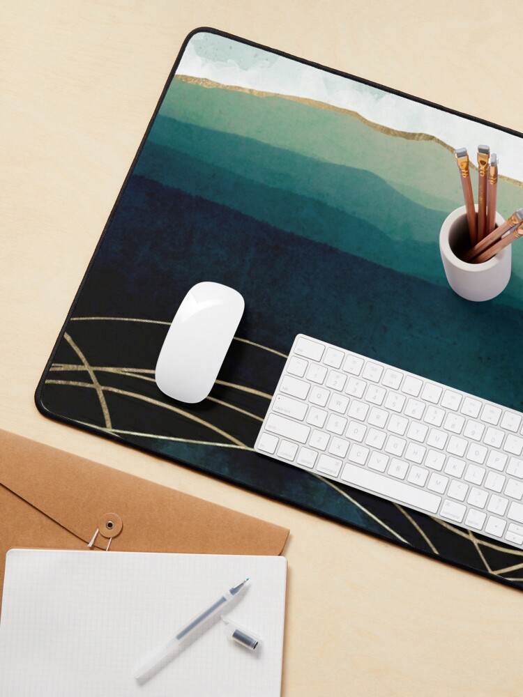 Alternate view of Indigo Waters Mouse Pad