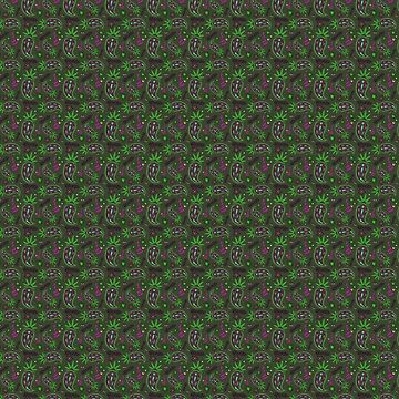 Weed Paisley {Forest} by IggyMarauder