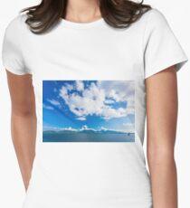 Coastal landscape  Women's Fitted T-Shirt