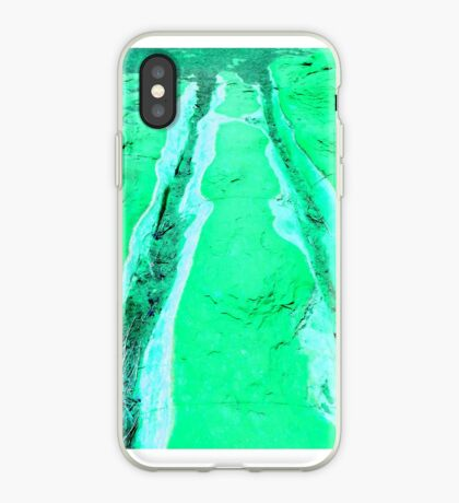 Riverbed in Mint iPhone Case