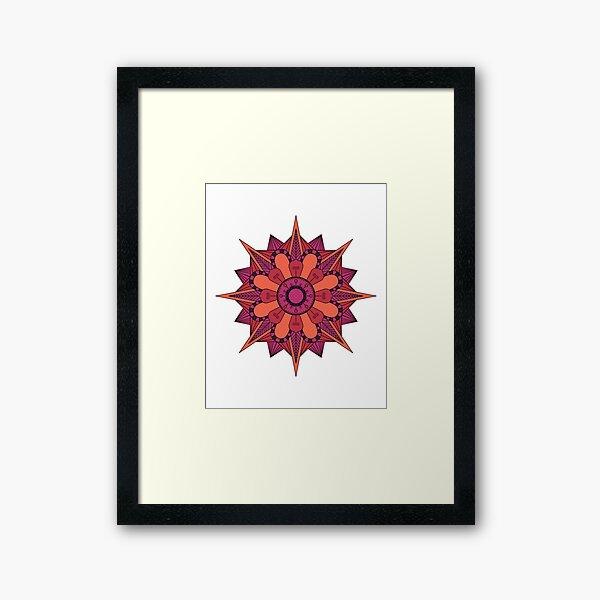 Flower Art Framed Art Print