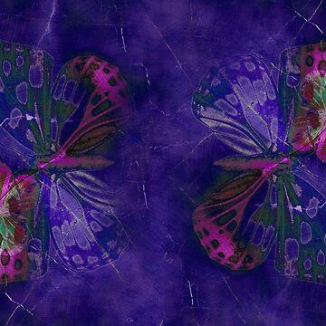 Marble Butterflies by CatyArte