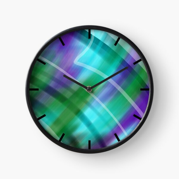 Pieces of You Abstract Clock