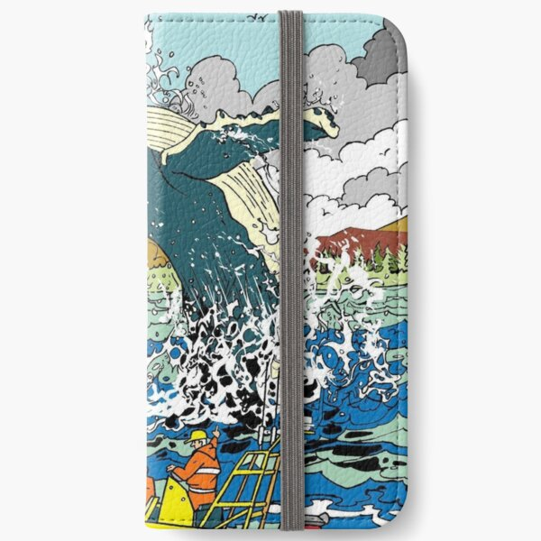 Jumping Whale iPhone Wallet