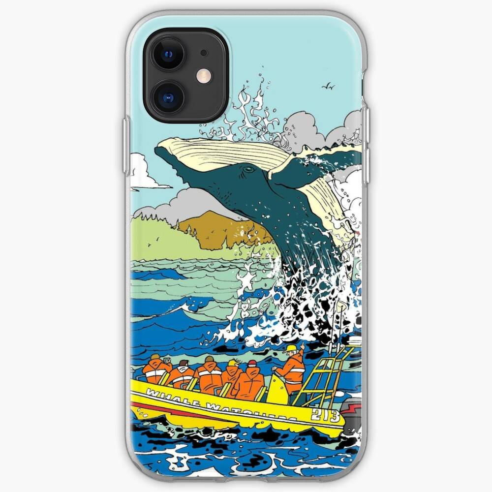 Jumping Whale iPhone Case & Cover