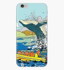 Jumping Whale iPhone Case