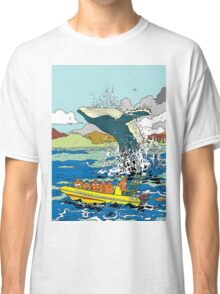 Jumping Whale Classic T-Shirt