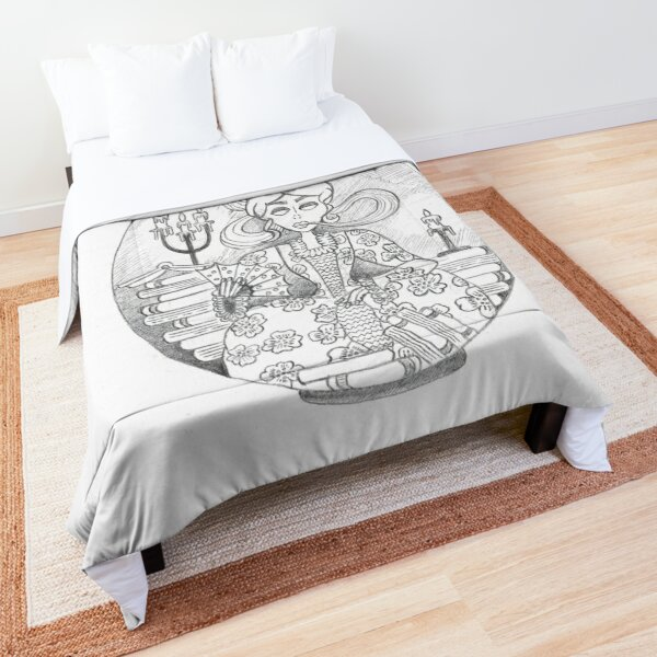 Bottled Victorian Comforter
