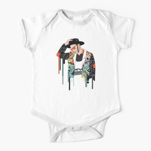 Jewish Man think | Modern and original jewish art Short Sleeve Baby One-Piece