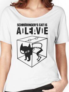 Schrodinger Cat Women's Relaxed Fit T-Shirt
