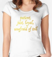 Just and Loyal Women's Fitted Scoop T-Shirt