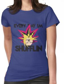 Every Day I'm Shufflin' Womens Fitted T-Shirt