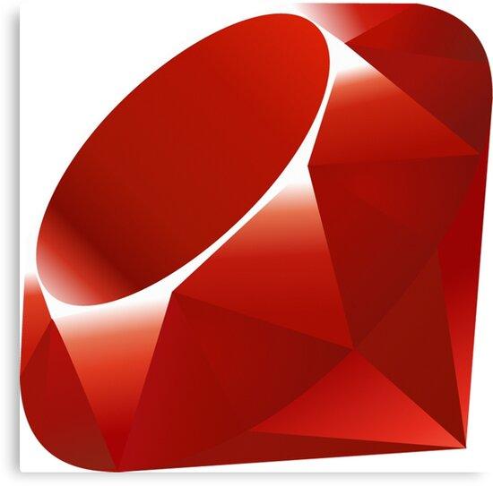 Ruby - Programming Language Logo by UnitShifter
