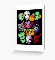 Halloween Squad Greeting Card