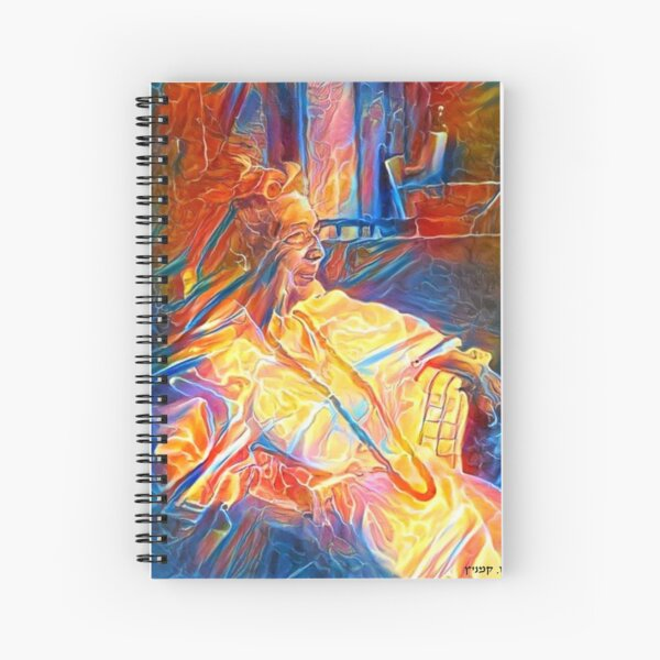 Madame Colette Aboulker-Muscat Spiral Notebook