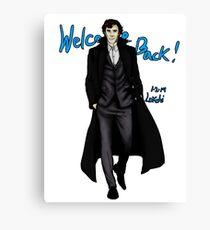 Sherlock Returns! Canvas Print
