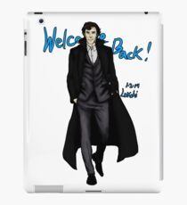 Sherlock Returns! iPad Case/Skin