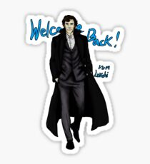 Sherlock Returns! Sticker