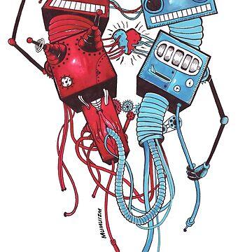 Robots in Love by Sami-Djebli