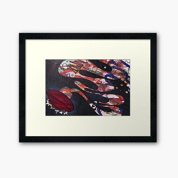 spaceman spliff Framed Art Print