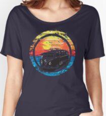 VW / Volkswagen Kombi Sunset Design Women's Relaxed Fit T-Shirt