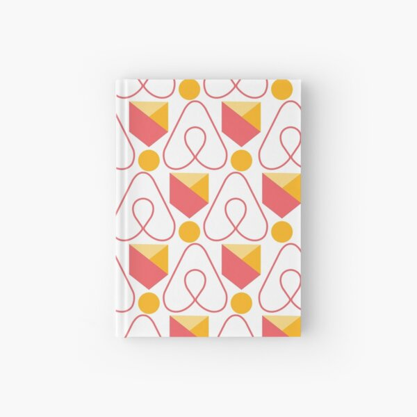 Airbnb Superhost, airbnb travel, proud host, airbnb pattern Hardcover Journal