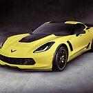 2016 Chevrolet Corvette Z06 coupe sports car art photo print by ArtNudePhotos