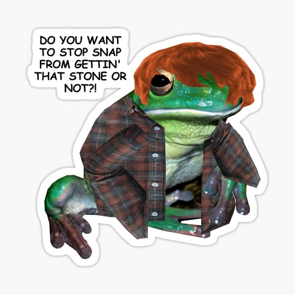 Ron do you want to stop Snape? Sticker