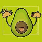 Avocado :: Fleischfressende Nahrungsmittelserie von missdaisydee