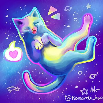 space cat by deadlykitten