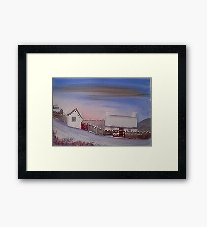 Creagneish, Isle of Man Framed Print