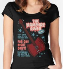 Marceline Gig Poster Women's Fitted Scoop T-Shirt